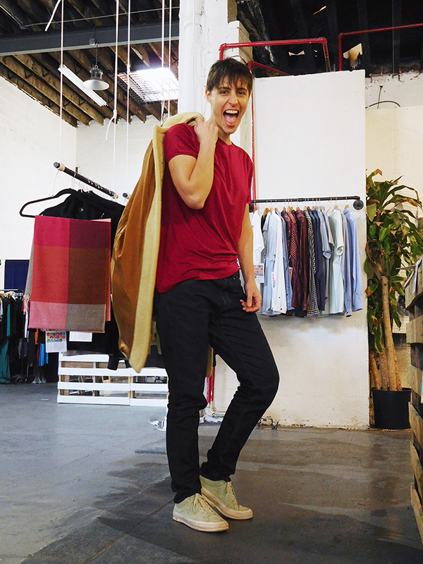 dorina kappatos sofiya gender neutral androgynous fashion
